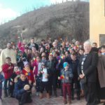 Coveșul alături de magi, spre Betleem